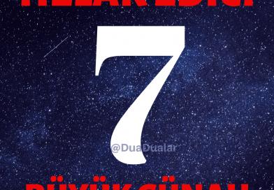 Helak Edici 7 Büyük Günah